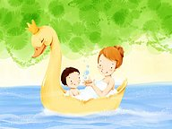 Children illustration of Mother s Day and Family Love21 pics