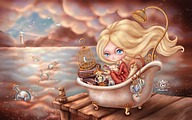 Windows 7 Themes (Tai, Ssu-Jui ) : Fairytale Dolls4 pics