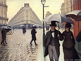 Gustave Caillebotte Oil Paintings5 pics