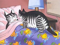 Bernard Kliban : Cat Dreams, Amusing Cat Cartoons 23 pics