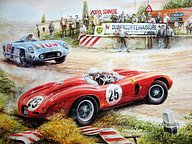 Vaclav Zapadlik Automotive Art : Vintage Cars and Racing Scene28 pics
