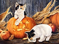 Halloween Art - Halloween Paintings by Various Artists18 pics