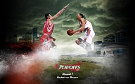 NBA : Houston Rockets 2009 Playoffs8 pics